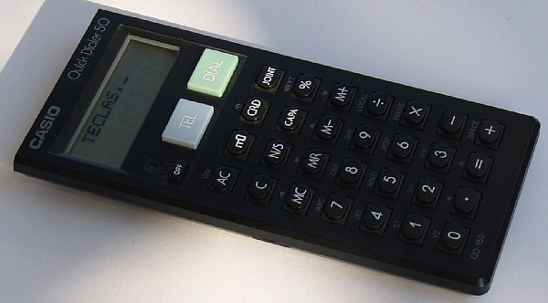 Casio QD-150 (Quick Dialer)