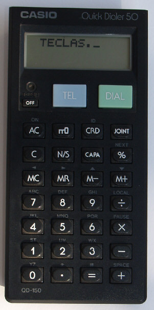 Casio Quick Dialer QD-150