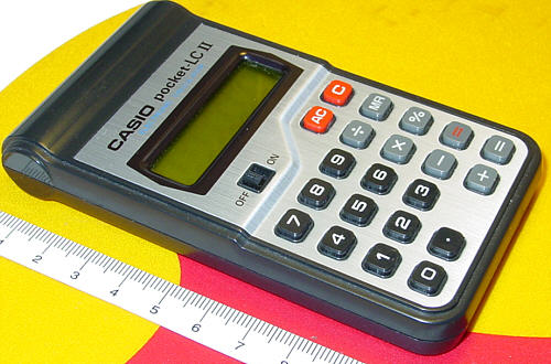 Casio pocket LC II (CL-812)